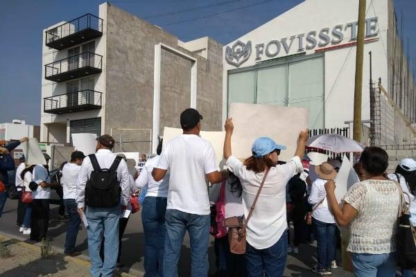 Fovisssste-manifestación