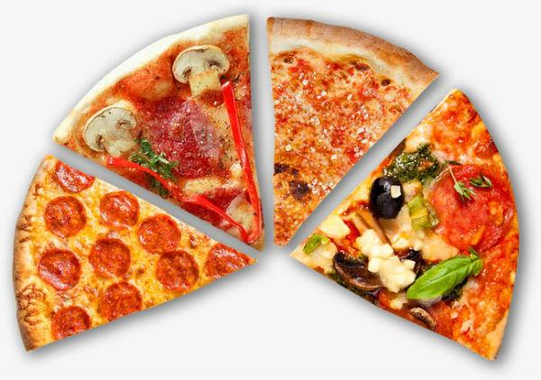 Puedes pedir un tour de pizzas en @pizzacityusa. Foto: Especial