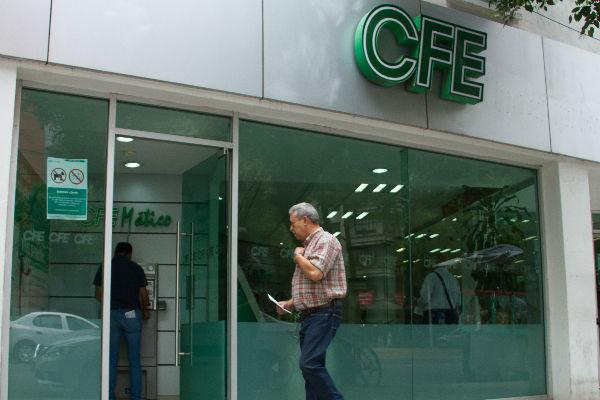 Entre enero y marzo de este año, la CFE registró ingresos por 119 mil 458 millones de pesos