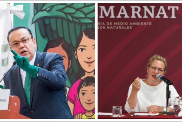 IMSS Semarnat Germán Martínez Josefa González