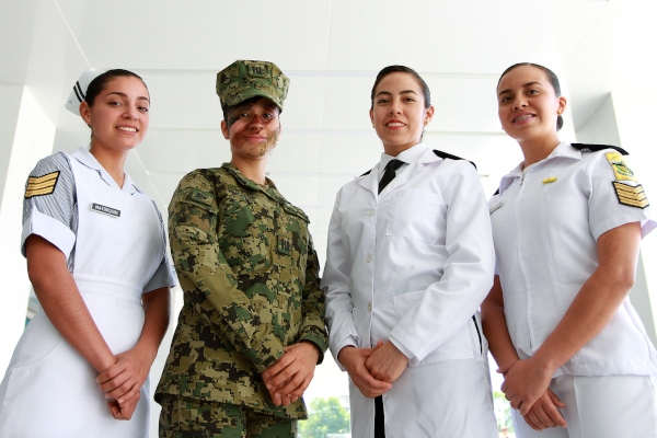 Mujeres militares Notimex