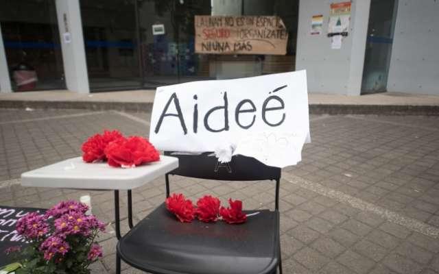 Silla de la estudiante Aideé Mendoza