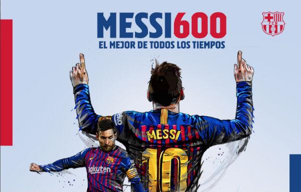 El jugador argentino puede superar aún mas su marca  en lo siguientes  seis juegos del Barcelona. FOTO: @FCBarcelona_es