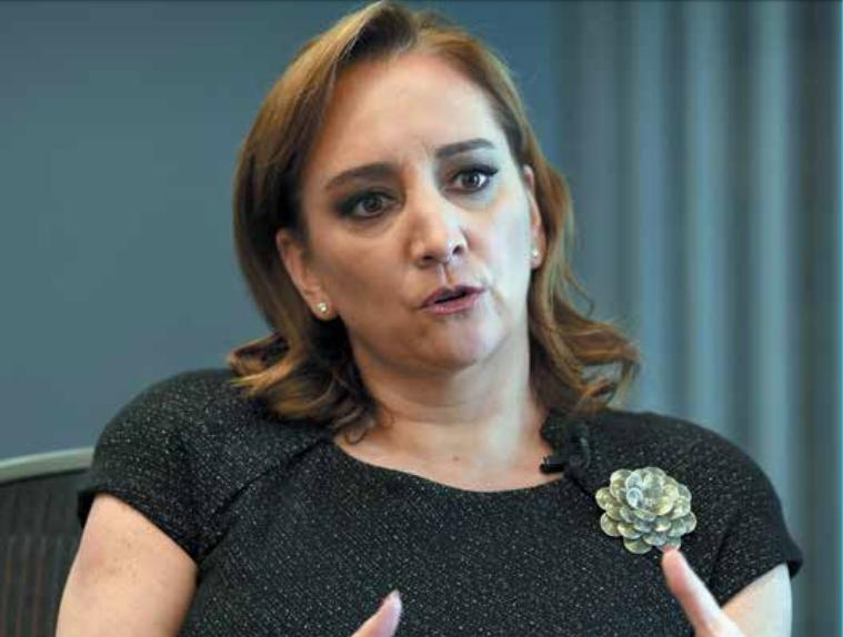 La presidenta del PRI aclaró que no pretende cambiar el método de elección interno.FOTO: ESPECIAL