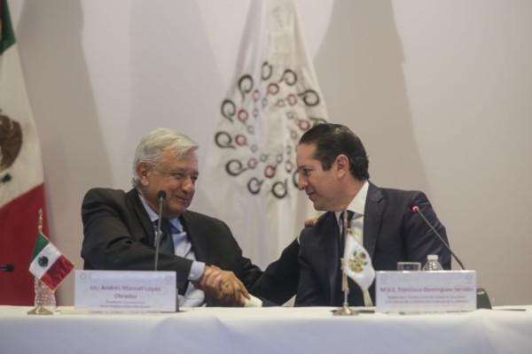 Francisco Domínguez Servién afirmó que la CONAGO es el foro donde confluyen los poderes ejecutivos estatales de la República. Foto: Especial