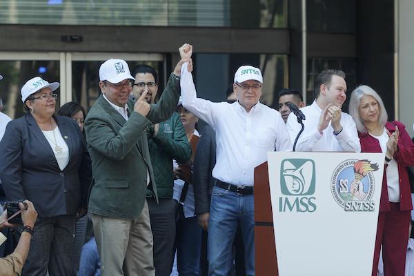 Marcha IMSS Día del Trabajo
