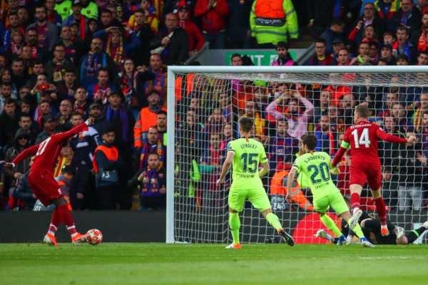 Barcelona puso una ventaja de tres goles en su casa. Foto: UEFA