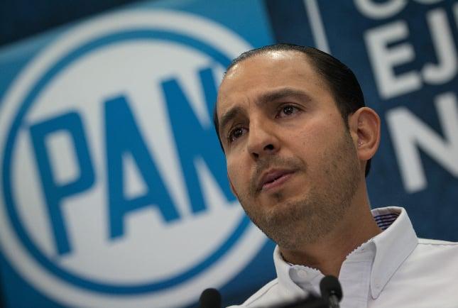 Marko Cortés cree que el presidente sostiene su gobierno con puro optimismo