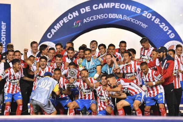 San Luis alcanza la máxima categoría Foto:Mexsports