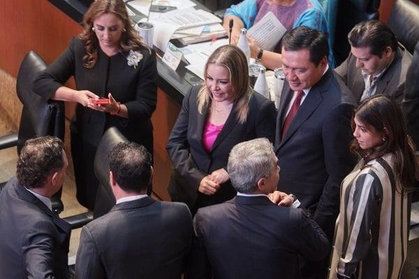 El Senado de la República clausuró esta noche el segundo periodo ordinario de sesiones del primer. Foto: Cuartoscuro