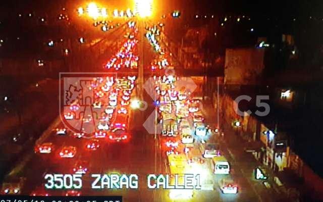 Tráfico en Calzada Zaragoza