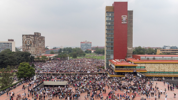 La UNAM analiza si es necesario poner detectores de metal en la entrada de sus planteles.