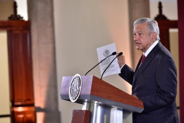 AMLO conferencia mañanera Presidencia López Obrador