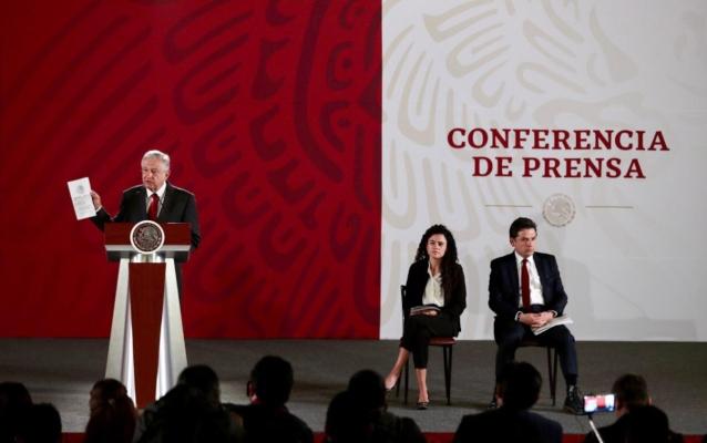 López Obrador en conferencia sobre reforma a la ley del trabajo
