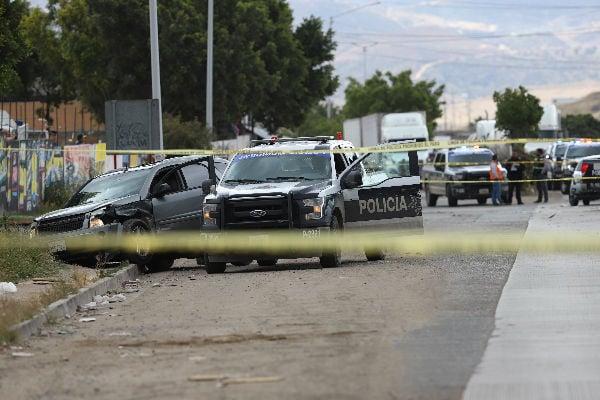 Los restos del síndico fueron encontrados a un costado de la carretera libre San Cristóbal-Tuxtla Gutiérrez. Foto: Cuartoscuro