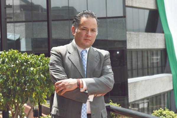 Santiago Nieto, de la Unidad de Inteligencia de la SHCP, dijo que el congelamiento de las cuentas de Emilio Lozoya es legal. Foto: Pablo Salazar