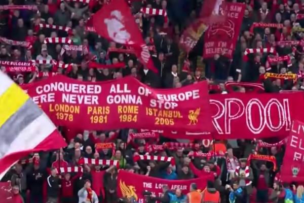 You'll Never Walk Alone himno del Liverpool en final de la Champions vs Tottenham