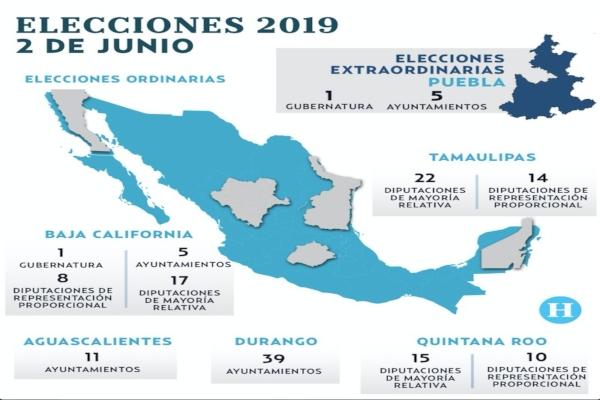 Seis candidatos buscan la gubernatura del Baja California. FOTO: ESPECIAL