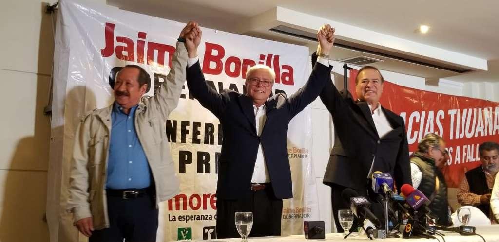 El candidato apuntó que Morena arrasó en la entidad. Foto: Especial