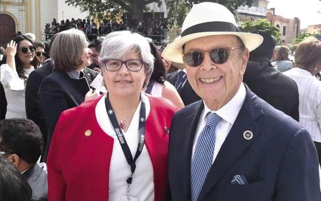 Los secretarios de Economía y Comercio, Graciela Márquez y Wilbur Ross, se reunirán.FOTO: ESPECIAL