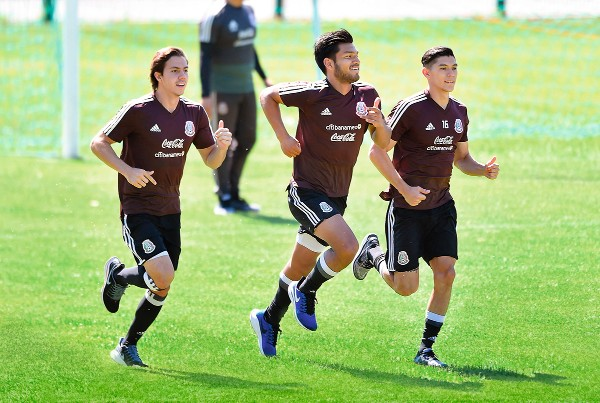 La Selección Mexicana realizó su primer entrenamiento en Atlanta, previo a su duelo amistoso ante Venezuela. Foto: MEXSPORT