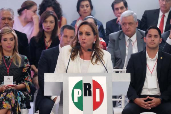 Ruiz Massieu dijo que seguirán trabajando para los siguientes comicios. Foto: Archivo   Cuartoscuro