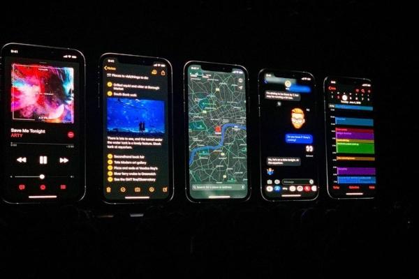 WWDC 2019 presentación de iOS 13