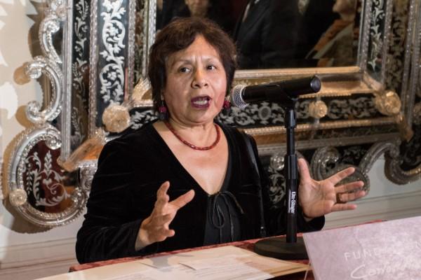 Lucina Jiménez, directora del INBA, viajó con otra funcionaria. Foto: Cuartoscuro