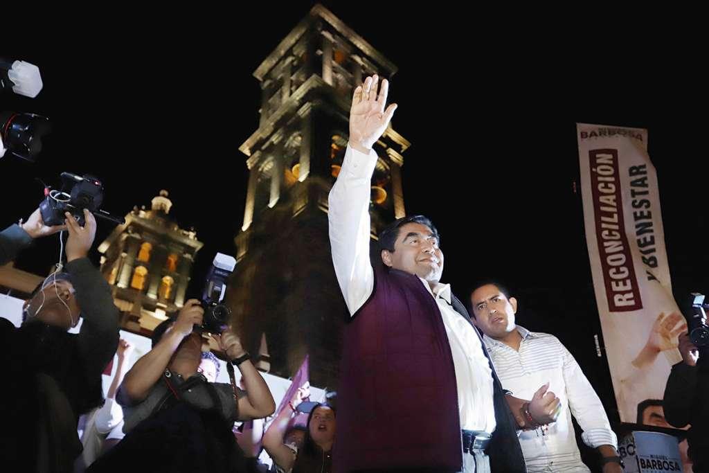 El virtual gobernador trazó las primeras acciones de su administración, una vez que tome protesta.FOTO: ESPECIAL
