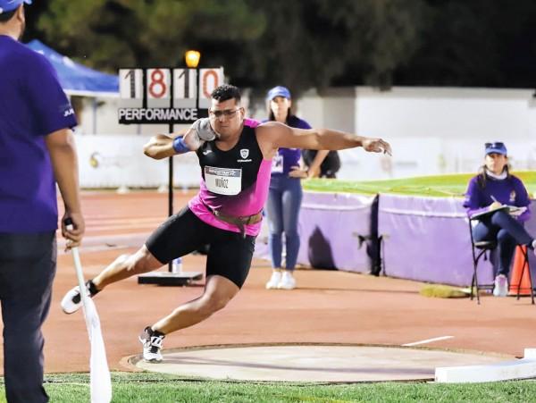 El atleta de Chihuahua es dos veces campeón nacional. Foto: Especial