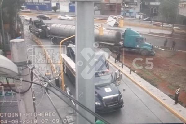 El accidente ocurrió cerca de las 05:23 horas de la mañana. Foto: C5