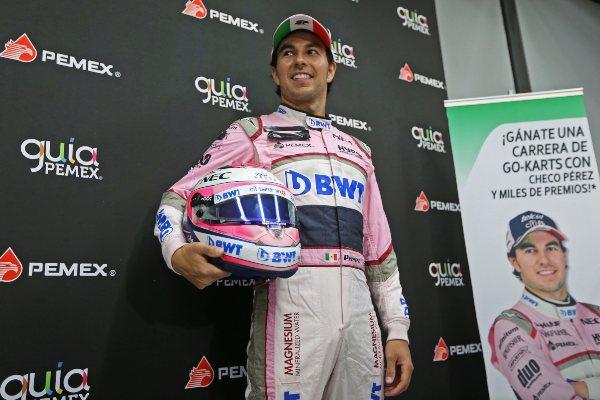 Sergio Pérez Fórmula 1 GP de México