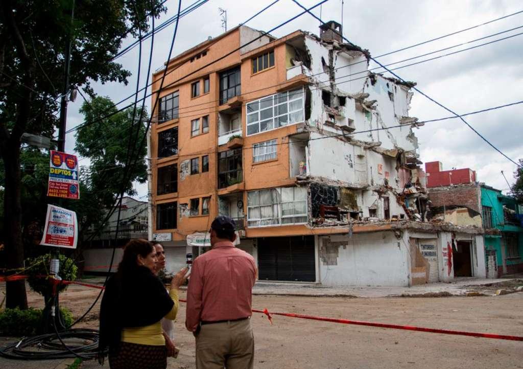 Lugares sin sismos