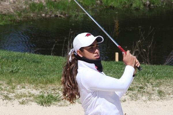 La hidalguense Fassi debutó como profesional durante la edición 74 del US Women's Open en Charleston, Carolina del Sur, torneo en el que finalizó en el sitio 12. Foto: Especial