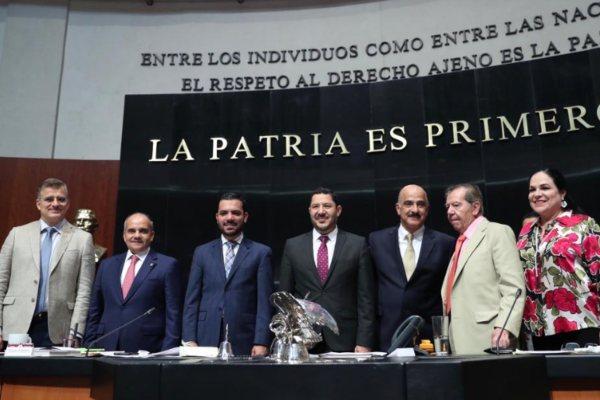 La comisión permanente realizó la ratificación. Foto: Especial