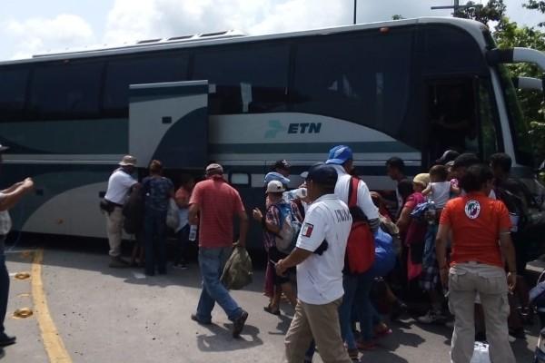 migrantes chiapas detenidos