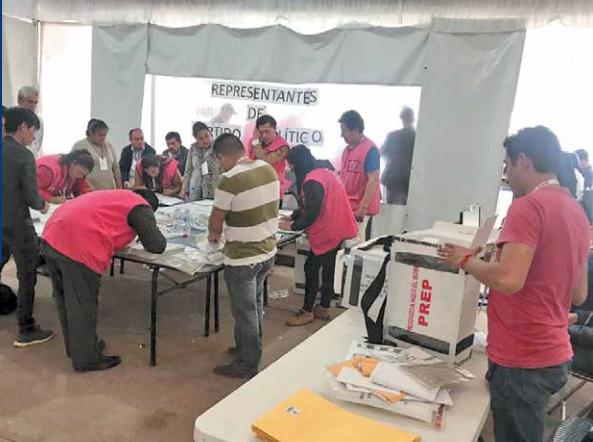 Este miércoles iniciaron los cómputos correspondientes a la elección extraordinaria en el estado. FOTO: ESPECIAL