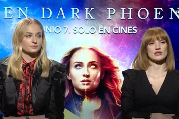 La actriz Sophie Turner djjo estar nerviosa por su papel protagónico en la película. Foto: Especial