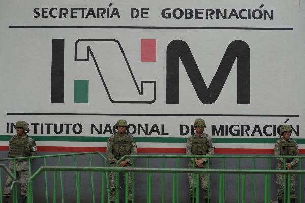 Sánchez Cordero dijo que buscan regular a la población migrante para poderles ofrecer servicios que hagan valer sus derechos humanos. Foto: Archivo   Cuartoscuro