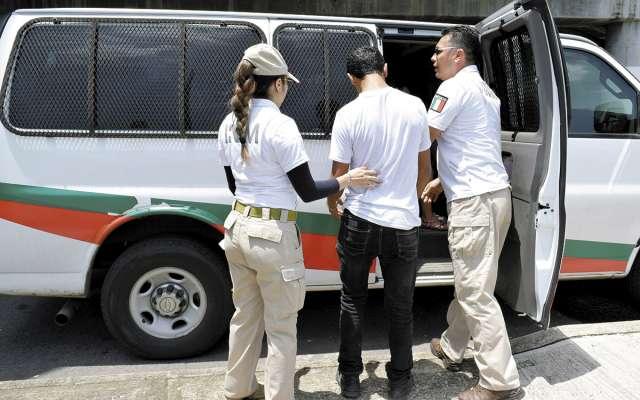 El gobierno respetará derechos de migrantes, pero los hará cumplir las leyes mexicanas.FOTO: ESPECIAL