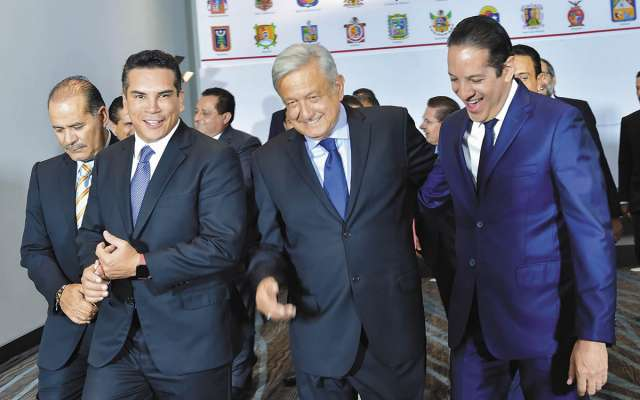 Gobernadores han mostrado respaldo al Presidente.FOTO: ESPECIAL