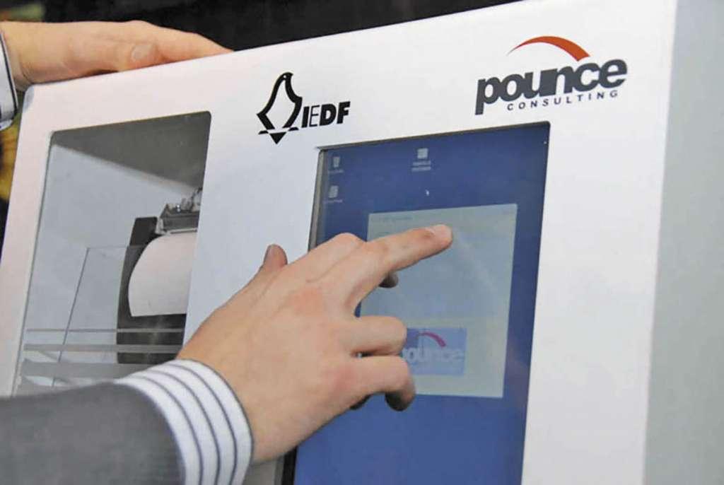 Estas urnas darán resultados de la elección a dos horas del cierre.FOTO: ESPECIAL