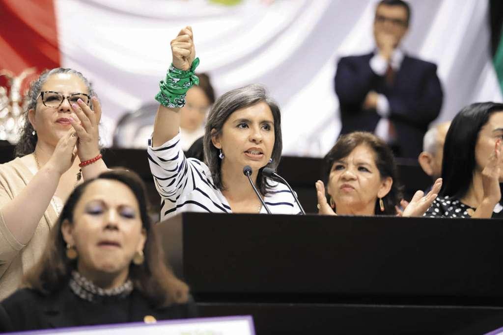 Briceño es la presidenta de la Comisión de Equidad de la Cámara baja.FOTO: ESPECIAL