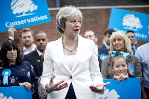 Partido Conservador Reino Unido Theresa may