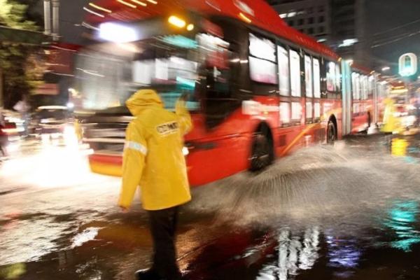 Activan alerta amarilla por lluvias