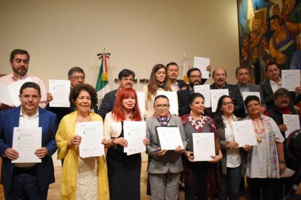 Alcaldes de la CDMX respaldan a AMLO