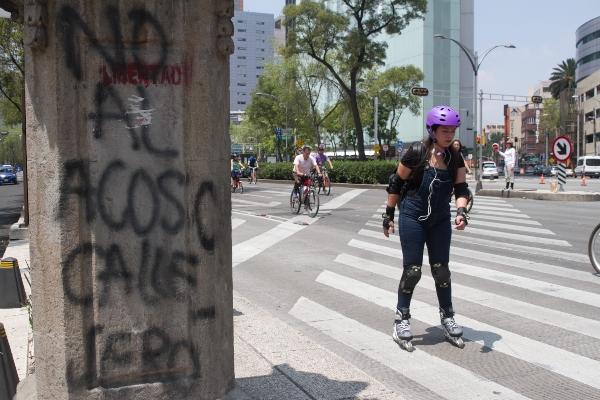 Acoso callejero CDMX. Foto_ Cuartoscuro