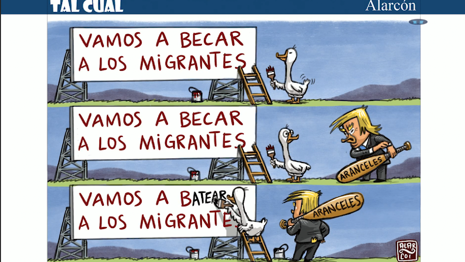 Tal Cual: Vamos a batear a los migrantes