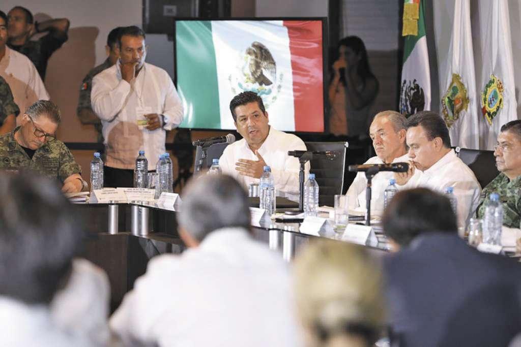 Participó el mandatario de Tamaulipas. FOTO: ESPECIAL