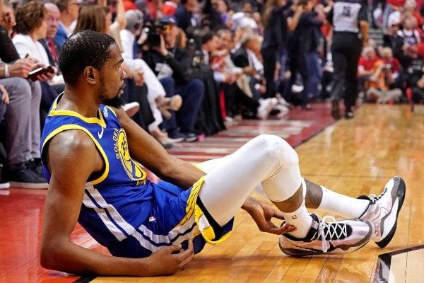 Kevin Durant NBA Raptors Warriors